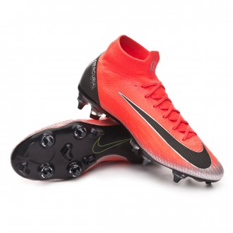 Chuteira  Nike Mercurial Superfly VI Elite Anti-Clog CR7 SG-Pro Flash crimson-Black-Total crimson
