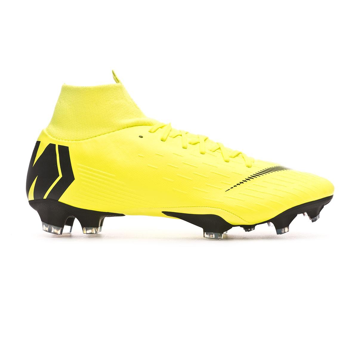 quality design a6136 119c3 Boot Nike Mercurial Superfly VI Pro FG Volt-Black - Leaked soccer