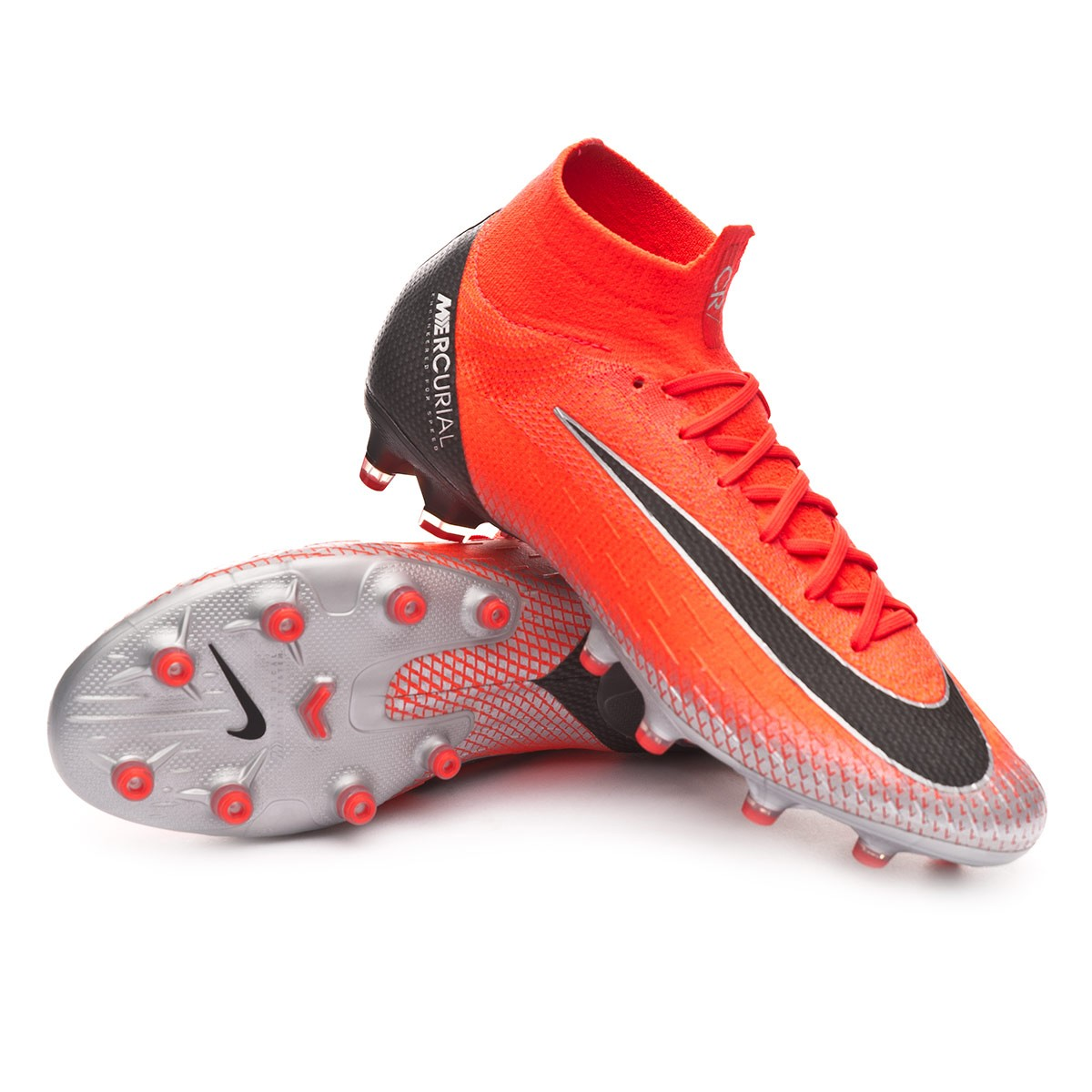 025088dc7f1 Football Boots Nike Mercurial Superfly VI Elite CR7 AG-Pro Flash  crimson-Black-Total crimson - Tienda de fútbol Fútbol Emotion