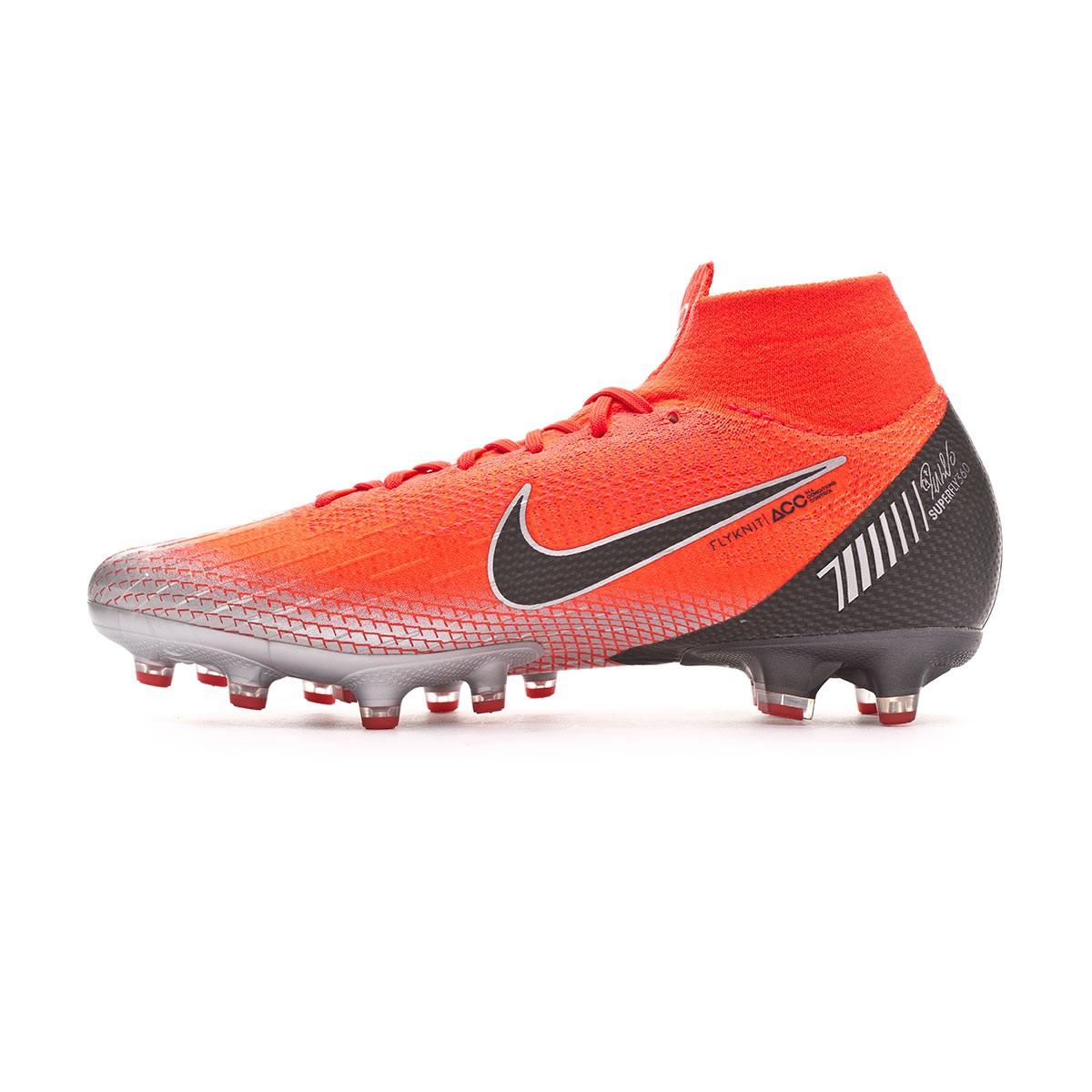 lowest price 5ac98 7f0ae Bota de fútbol Nike Mercurial Superfly VI Elite CR7 AG-Pro Flash crimson- Black-Total crimson - Tienda de fútbol Fútbol Emotion