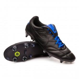 Bota  Nike Tiempo Premier II Anti-Clog Traction SG-Pro Black-Racer blue