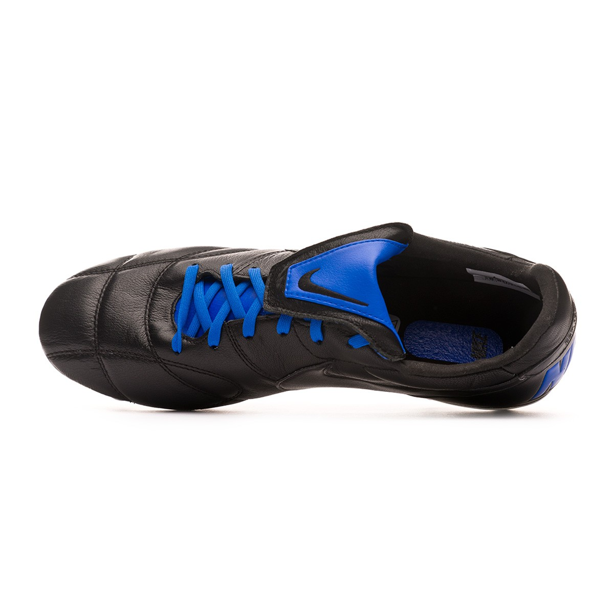 95c244a342d62 Football Boots Nike Tiempo Premier II Anti-Clog Traction SG-Pro Black-Racer  blue - Tienda de fútbol Fútbol Emotion