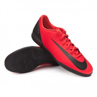 Futsal Boot  Nike Mercurial VaporX XII Club CR7 IC Bright crimson-Black-Chrome