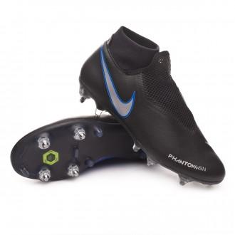 Bota  Nike Phantom Vision Academy DF ACC SG-Pro Black-Metallic silver-Racer blue