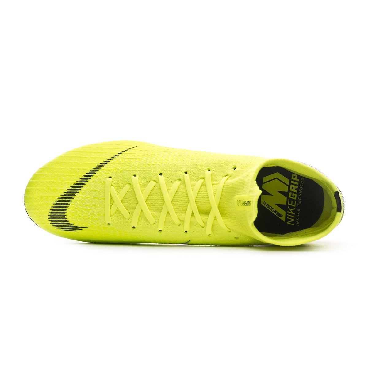 509853df5 Football Boots Nike Mercurial Superfly VI Elite FG Volt-Black - Tienda de  fútbol Fútbol Emotion