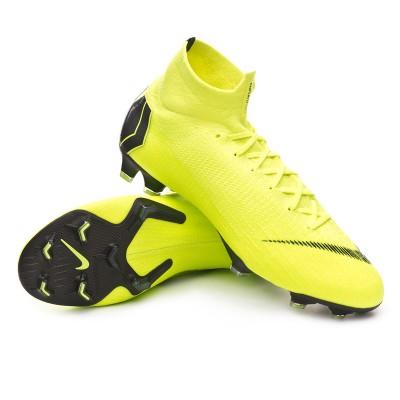 4239f3f08606 Football Boots Nike Mercurial Superfly VI Elite FG Volt-Black - Tienda de fútbol  Fútbol Emotion
