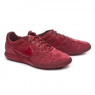 Zapatilla  Nike Tiempo Premier II Sala IC Team red