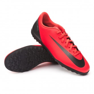 Football Boot  Nike Mercurial VaporX XII Club CR7 Turf Bright crimson-Black-Chrome