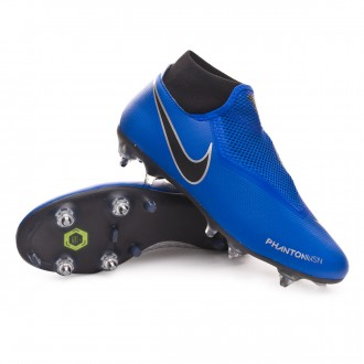 Bota  Nike Phantom Vision Academy DF ACC SG-Pro Racer blue-Black-Metallic silver-Volt