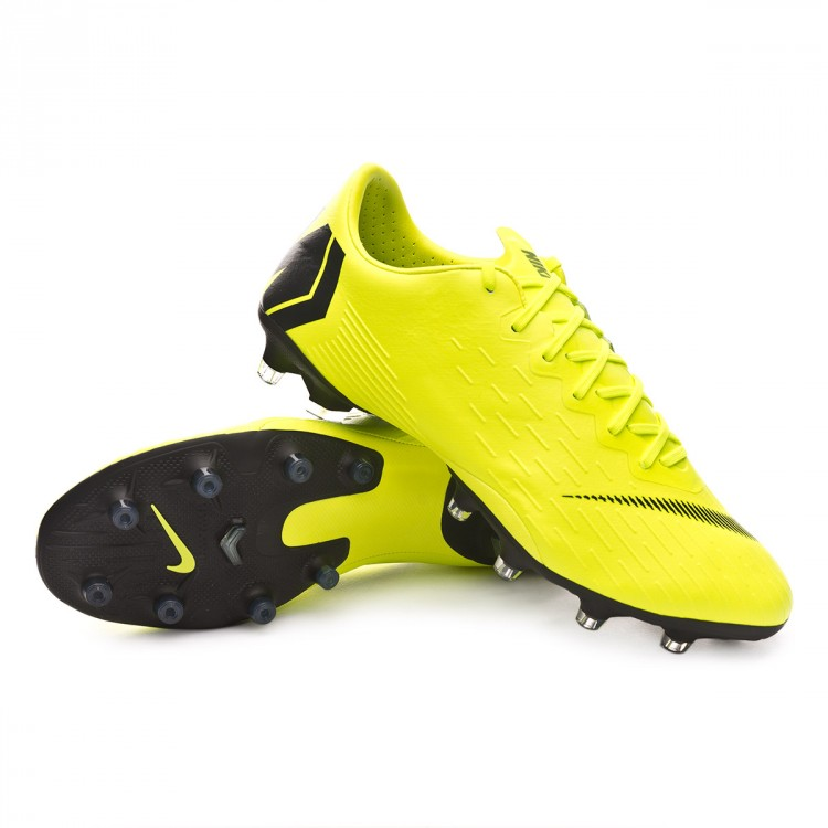 ba7a697a3f7f8e Boot Nike Mercurial Vapor XII Pro AG-Pro Volt-Black - Football store ...