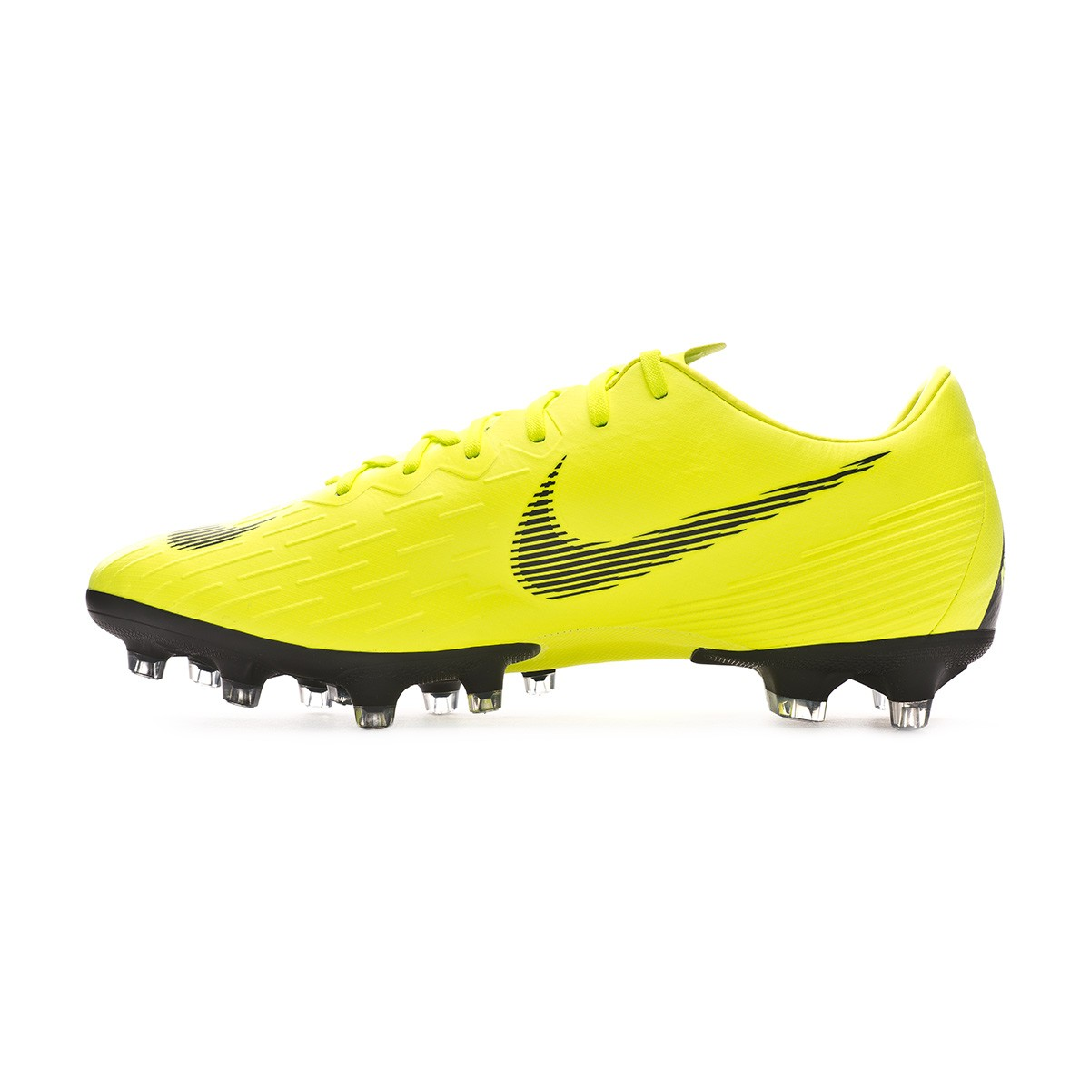 68b386c3ca680 Football Boots Nike Mercurial Vapor XII Pro AG-Pro Volt-Black - Football  store Fútbol Emotion