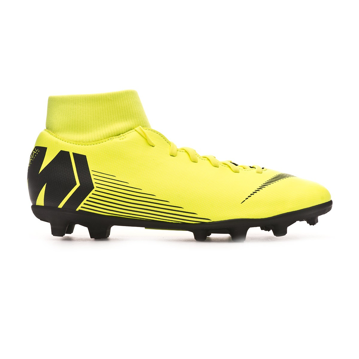 dec77c5f5 Football Boots Nike Mercurial Superfly VI Club MG Volt-Black - Tienda de fútbol  Fútbol Emotion