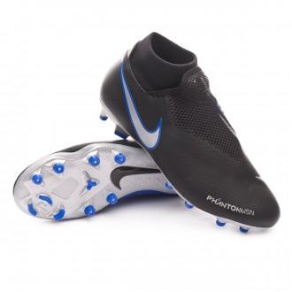 aba42700730 Football Boots Nike Phantom Vision Academy DF FG MG Black-Metallic  silver-Racer