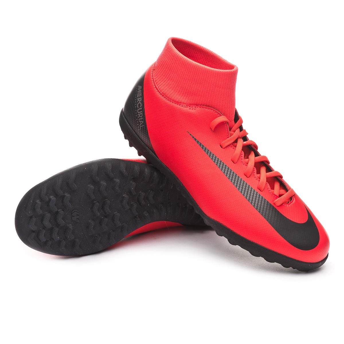 86102f7ea37 Sapatilhas Nike Mercurial SuperflyX VI Club CR7 Turf Bright crimson ...
