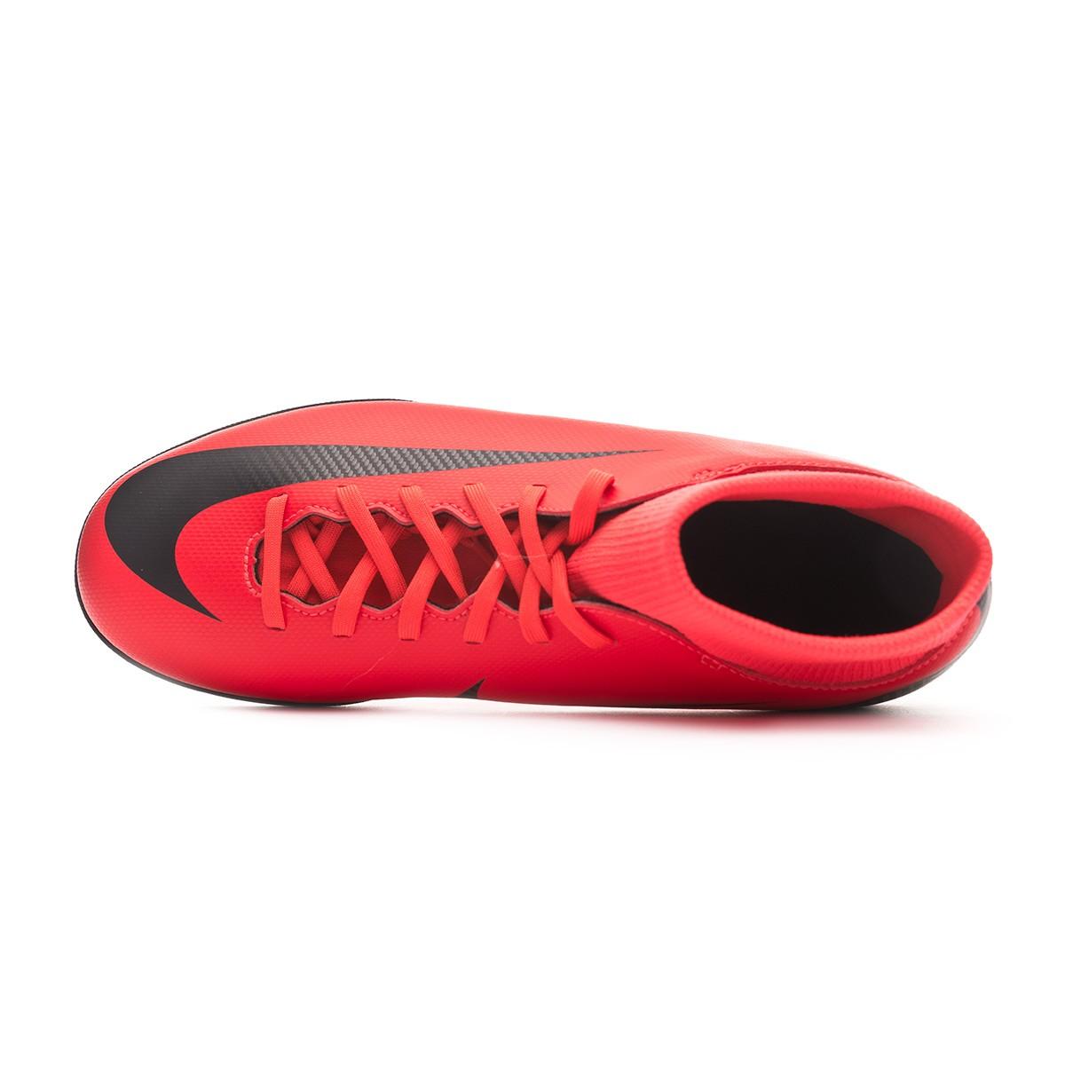 2e8e02a6e98 Sapatilhas Nike Mercurial SuperflyX VI Club CR7 Turf Bright  crimson-Black-Chrome - Loja de futebol Fútbol Emotion