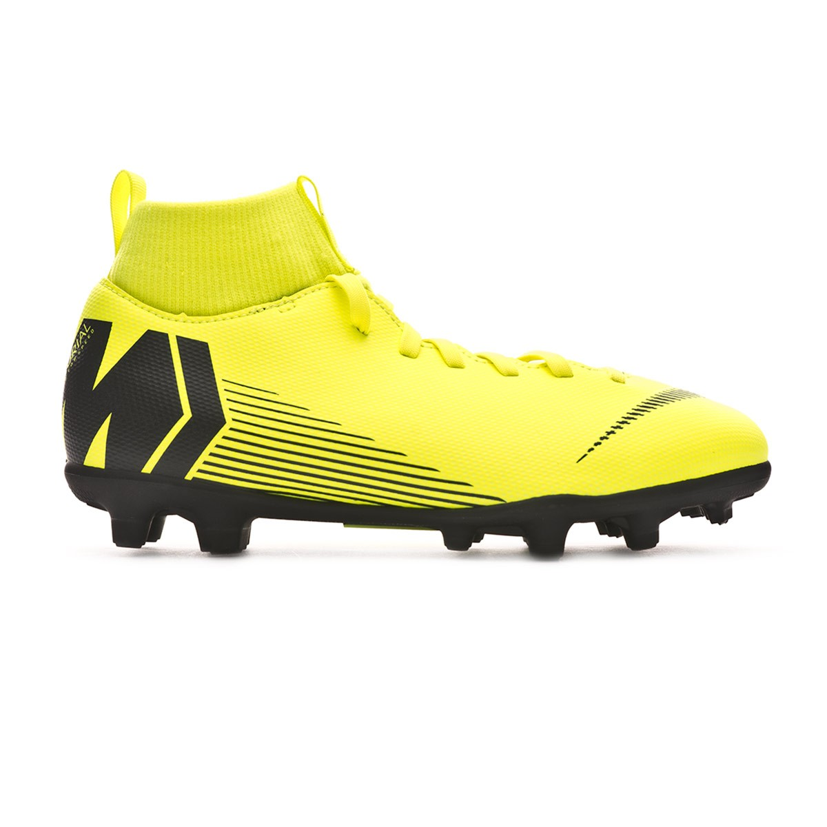4f9ff949e26 Football Boots Nike Kids Mercurial Superfly VI Club MG Volt-Black - Tienda  de fútbol Fútbol Emotion