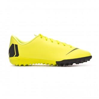 Zapatilla  Nike Mercurial VaporX XII Academy Turf Niño Volt-Black