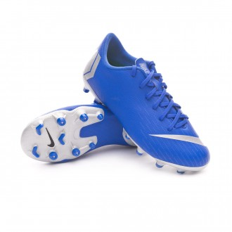Boot  Nike Kids Mercurial Vapor XII Academy MG Racer blue-Metallic silver-Black-Volt