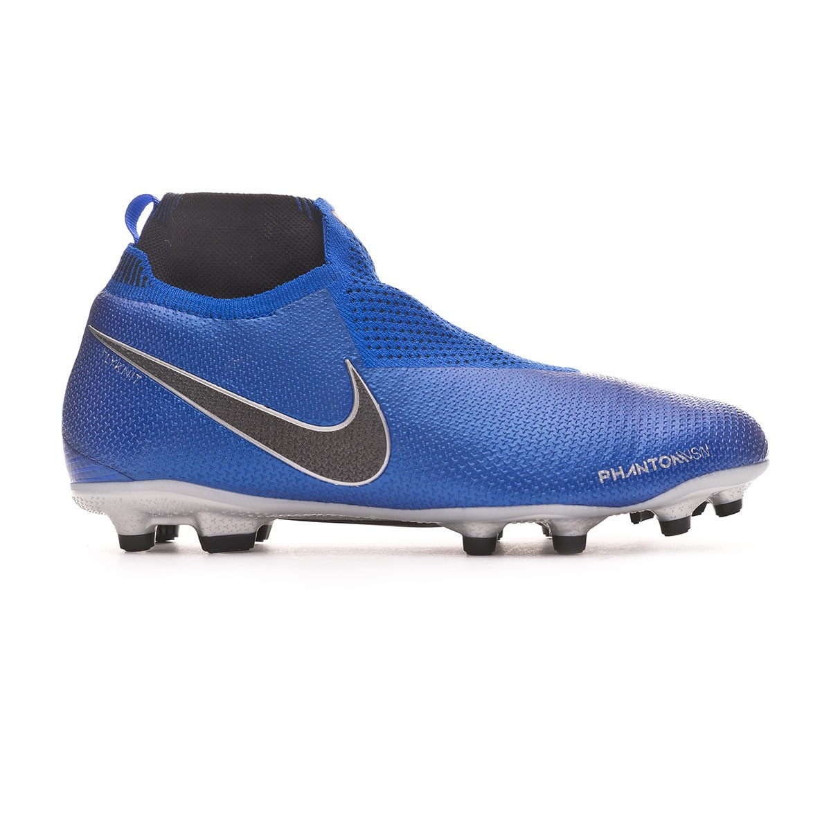 0cb4d7b92 Football Boots Nike Kids Phantom Vision Elite DF FG MG Racer blue-Black-Metallic  silver-Volt - Tienda de fútbol Fútbol Emotion
