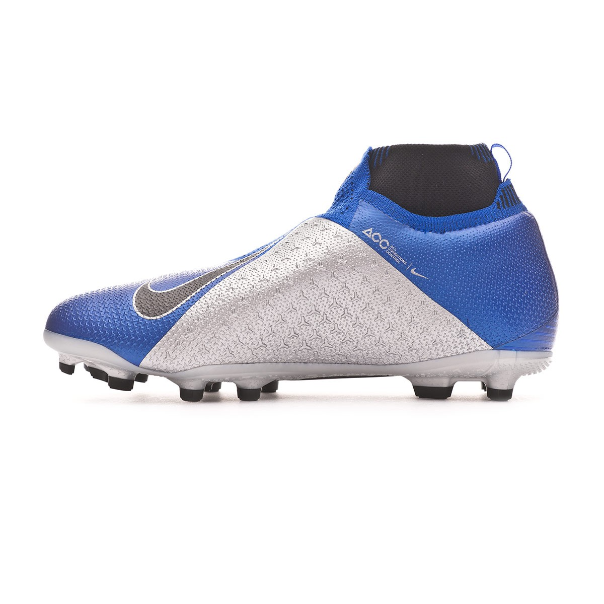 5f3f2a515 Football Boots Nike Kids Phantom Vision Elite DF FG/MG Racer blue-Black-Metallic  silver-Volt - Tienda de fútbol Fútbol Emotion