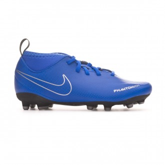 Bota  Nike Phantom Vision Club DF FG/MG Niño Racer blue-Black