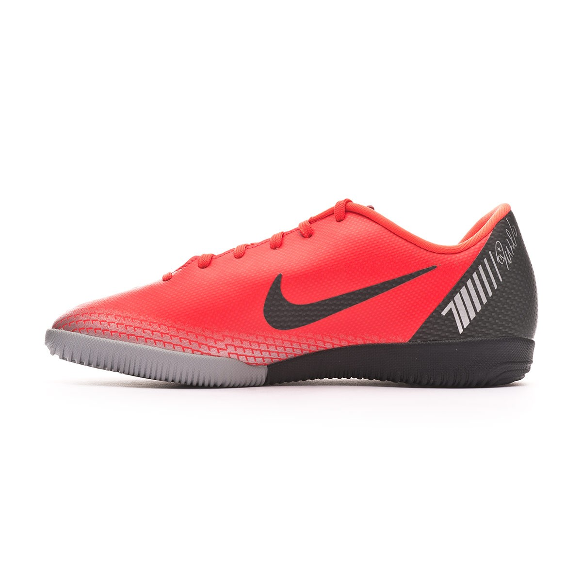 ee11309bdcc Futsal Boot Nike Kids Mercurial VaporX XII Academy CR7 IC Bright crimson- Black-Chrome-Dark grey - Football store Fútbol Emotion