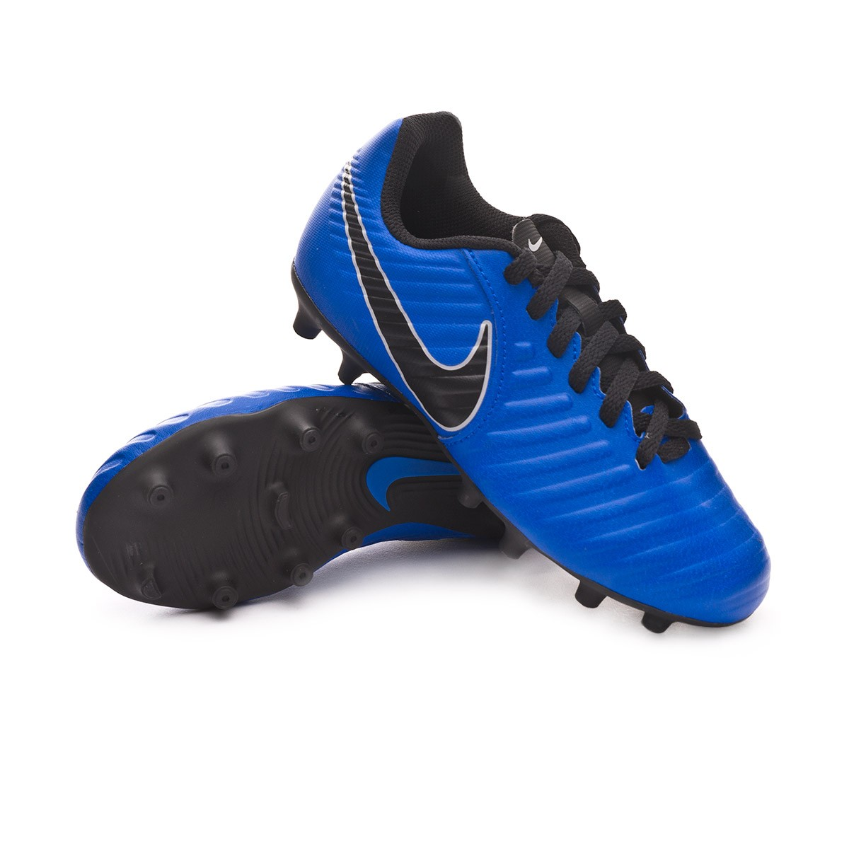 new products e2329 b7c5e Scarpe Nike Tiempo Legend VII Club MG Junior Racer blue-Black-Wolf grey -  Negozio di calcio Fútbol Emotion