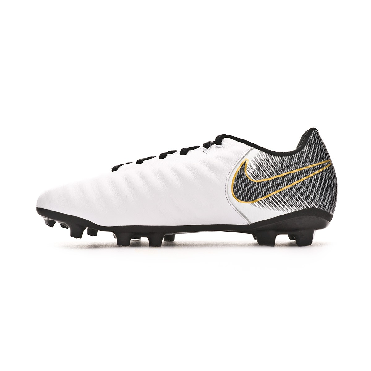 397c17c4e Football Boots Nike Kids Tiempo Legend VII Academy MG White-Black -  Football store Fútbol Emotion