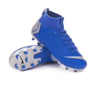 Boot  Nike Kids Mercurial Superfly VI Academy MG  Racer blue-Metallic silver-Black-Volt