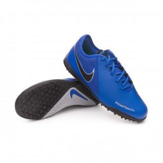 Football Boot  Nike Kids Phantom Vision Academy Turf  Racer blue-Black-Metallic silver-Volt