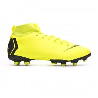 Bota  Nike Mercurial Superfly VI Academy MG Niño Volt-Black