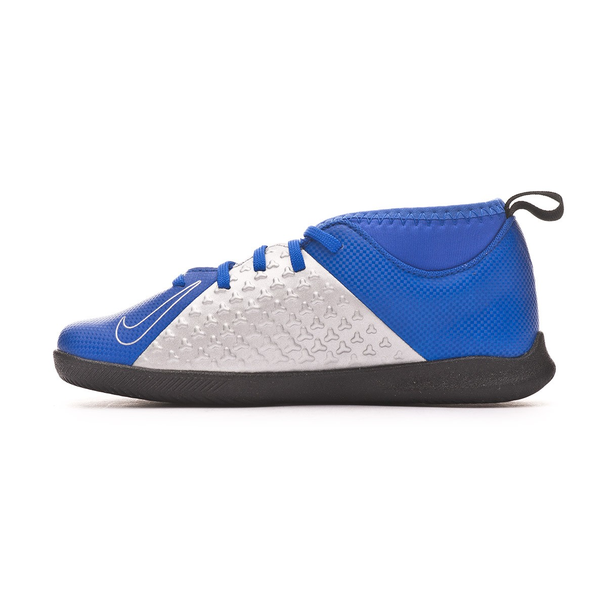 b45d8cce145 Futsal Boot Nike Kids Phantom Vision Club DF IC Racer blue-Black-Metallic  silver-Volt - Leaked soccer