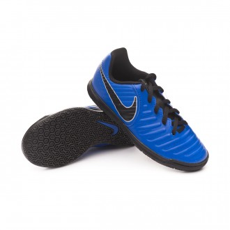 Zapatilla  Nike Tiempo LegendX VII Club IC Niño Racer blue-Black-Wolf grey