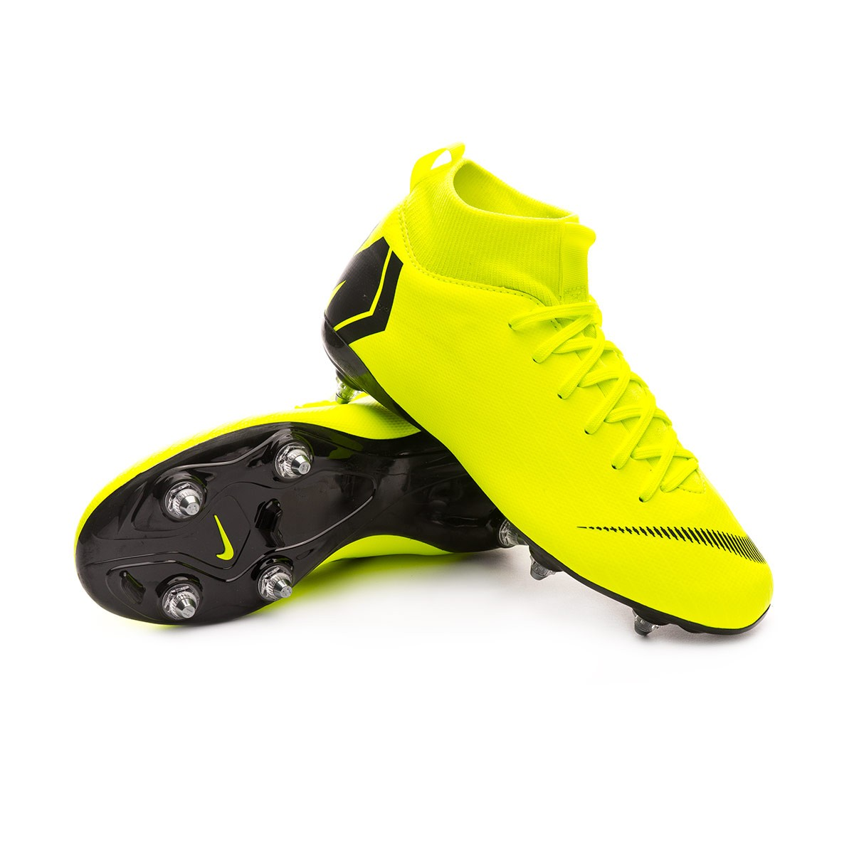 ea4e0fb9a Football Boots Nike Kids Mercurial Superfly VI Academy SG-Pro Volt ...