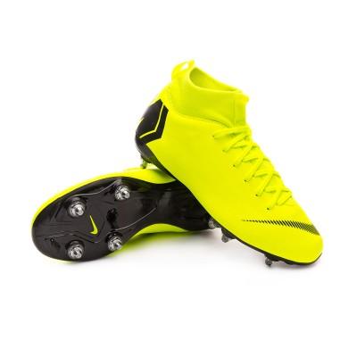 los angeles 70f3d 89694 Boot Nike Kids Mercurial Superfly VI Academy SG-Pro Volt-Black - Leaked  soccer