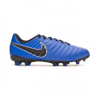 Chaussure de foot  Nike Tiempo Legend VII Academy MG Niño Racer blue-Black-Metallic silver