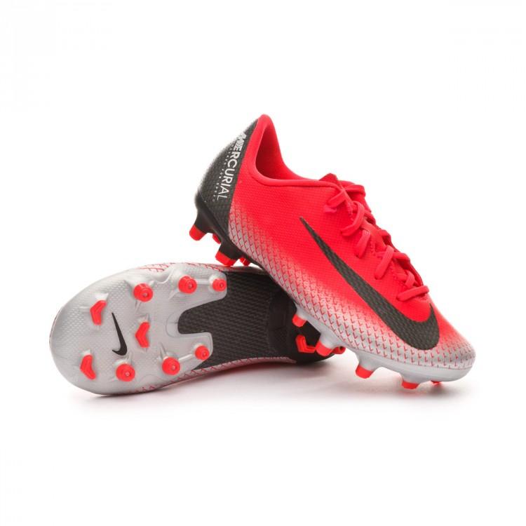 Chuteira Nike Mercurial Vapor XII Academy MG Crianças Bright crimson ... ea00bf8629e90