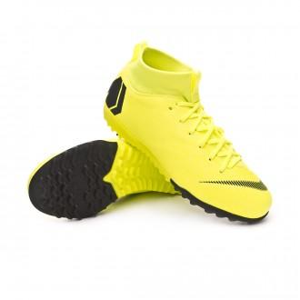 Zapatilla  Nike Mercurial SuperflyX VI Academy Turf Niño Volt-Black