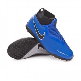 Football Boot  Nike Kids Phantom Vision Academy DF Turf  Racer blue-Black