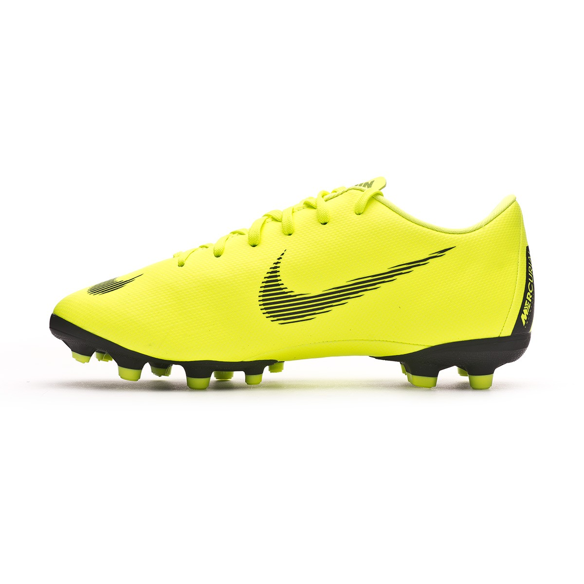 29f4d3bf5 Football Boots Nike Kids Mercurial Vapor XII Academy MG Volt-Black -  Football store Fútbol Emotion