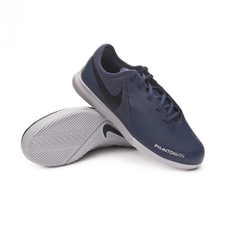 3761e0cca55a1 Futsal Boot Nike Kids Phantom Vision Academy IC Midnight navy-Black ...
