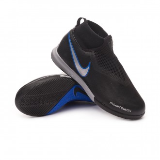 Zapatilla  Nike Phantom Vision Academy DF IC Niño Black-Metallic silver-Racer blue