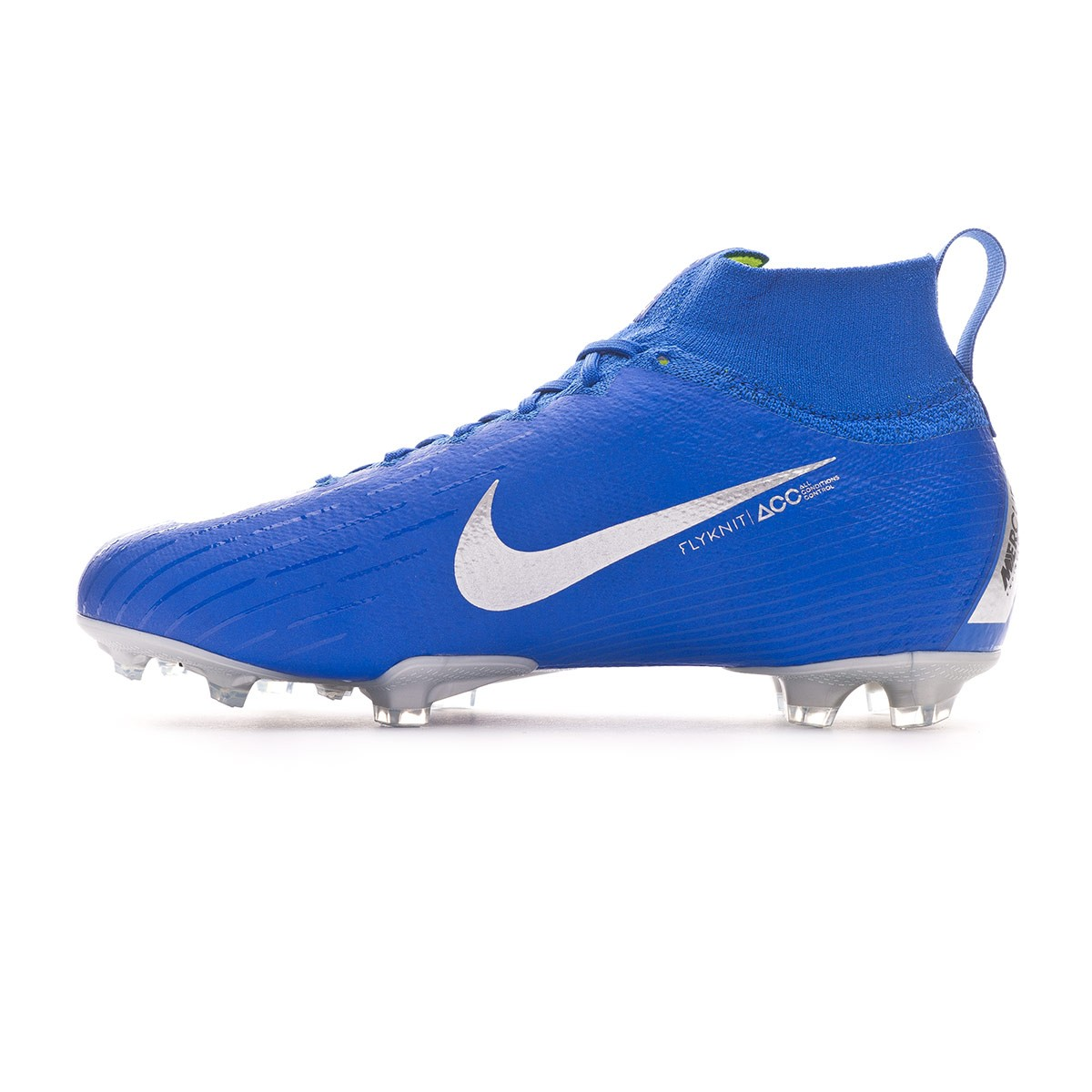 new style acec8 e2a4b Football Boots Nike Kids Mercurial Superfly VI Elite FG Racer blue-Metallic  silver-Black-Volt - Tienda de fútbol Fútbol Emotion
