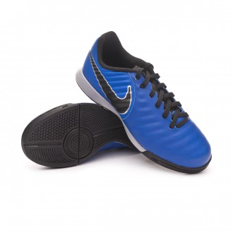 Zapatilla  Nike Tiempo LegendX VII Academy IC Niño Racer blue-Black-Metallic silver