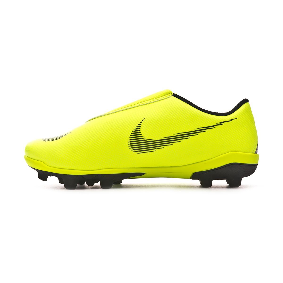 fa4c13ceb5d Football Boots Nike Kids Mercurial Vapor XII Club MG Volt-Black - Football  store Fútbol Emotion