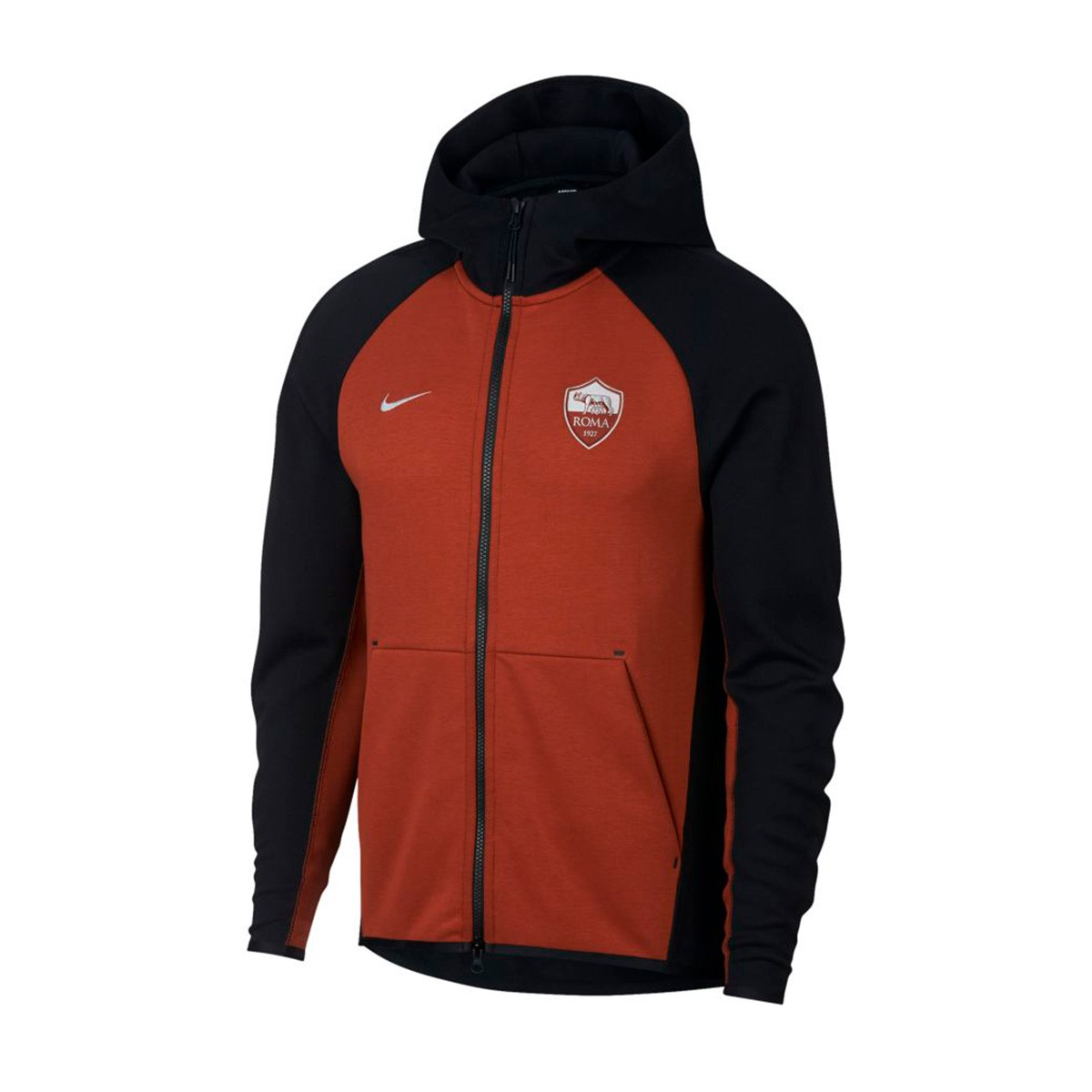 low priced c93e2 cb4f9 Nike AS Roma Tech Fleece 2018-2019 Jacket