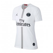 Camiseta Paris Saint-Germain Stadium Tercera Equipación 2018-2019 Mujer White-Black