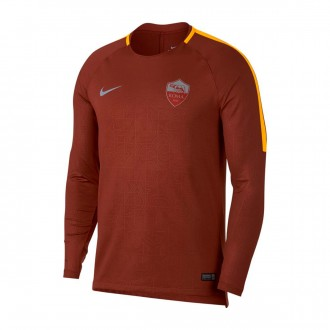 Sudadera  Nike AS Roma Squad 2018-2019 Mars stone-University gold