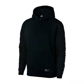 Sweatshirt  Nike Inter Milán NSW PO CL 2018-2019 Black-Diffused blue