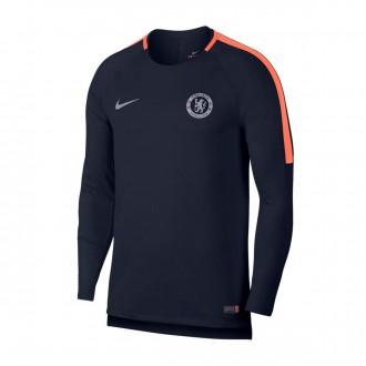 Sudadera  Nike Chelsea FC Squad 2018-2019 Obsidian-Hyper crimson